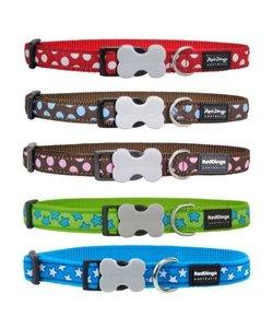 RedDingo ster/stip halsband 20mm 30-45cm
