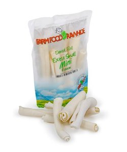 Rawhide Dental Roll mini