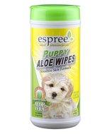 Espree puppy aloe wipes